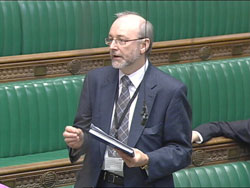 Alex Cunningham MP in Parliament