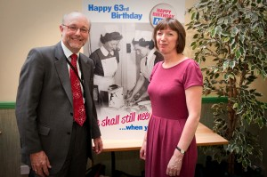 Alex Cunningham MP celebrates the 63rd birthday of the NHS