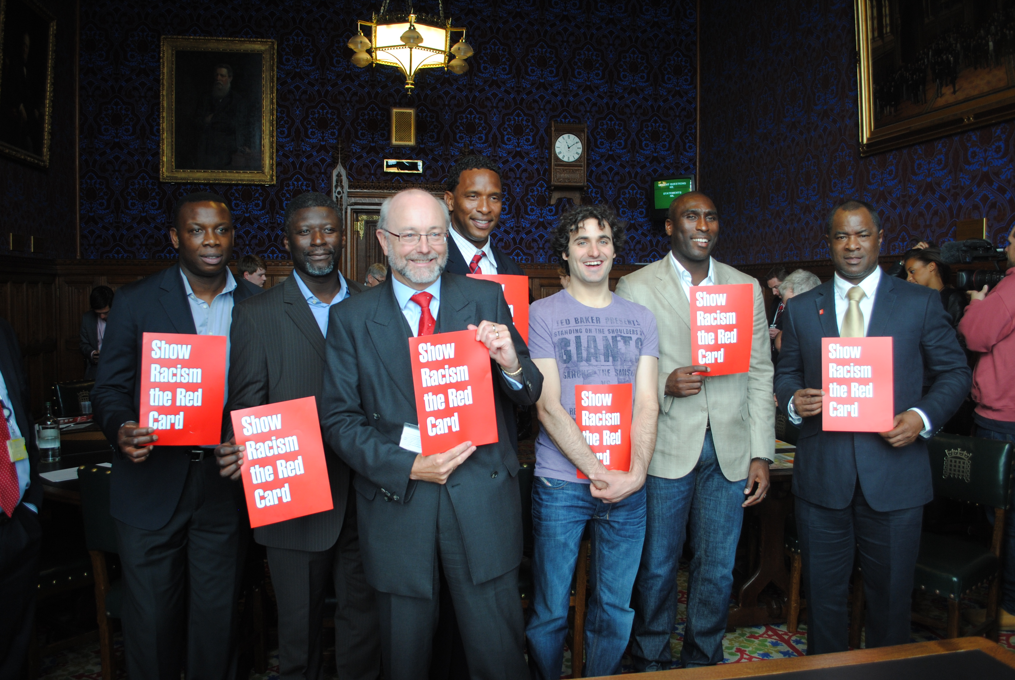 Alex backs calls for funding from the 'Show Racism the Red Card' campaign