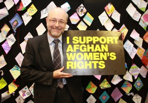 Alex supports Afghan Women Rights 'Kite' initiative