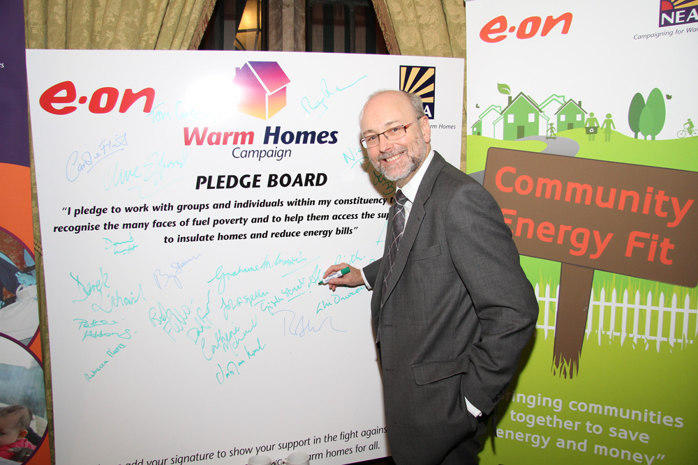 Alex pledges to help hard pressed constituents escape the misery of living in fuel poverty this winter