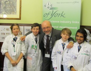 Industrial scientists and engineers help inspire Stockton North children to study science