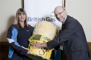 British Gas and Alex MP team up to Share the Warmth