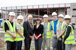 Alex & Trainees at Carillion (July 2012)