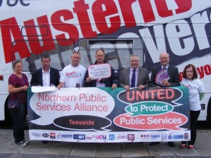 Alex joins austerity research campaign in Stockton