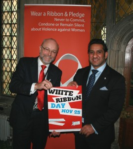 Alex & White Ribbon Day (November 2013)