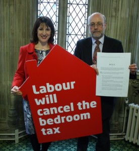 Alex & Rachel Reeves re. Bedroom Tax (April 2014)