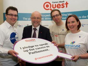Alex & Carers Week Quest (May 2014)