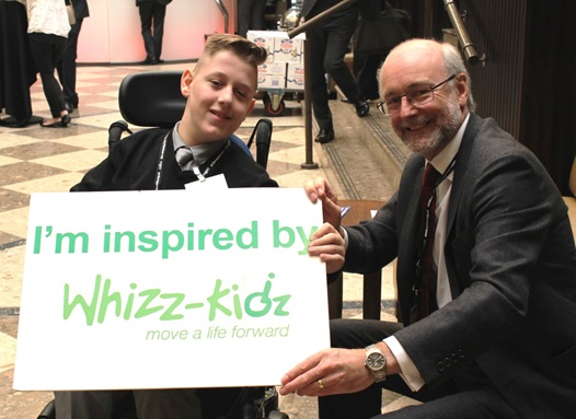 Alex rises to the challenge to highlight difficulties facing disabled children