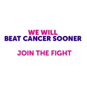 Alex urges residents to join him in the fight against cancer