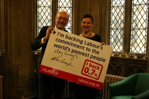 Alex backs life-saving international aid law