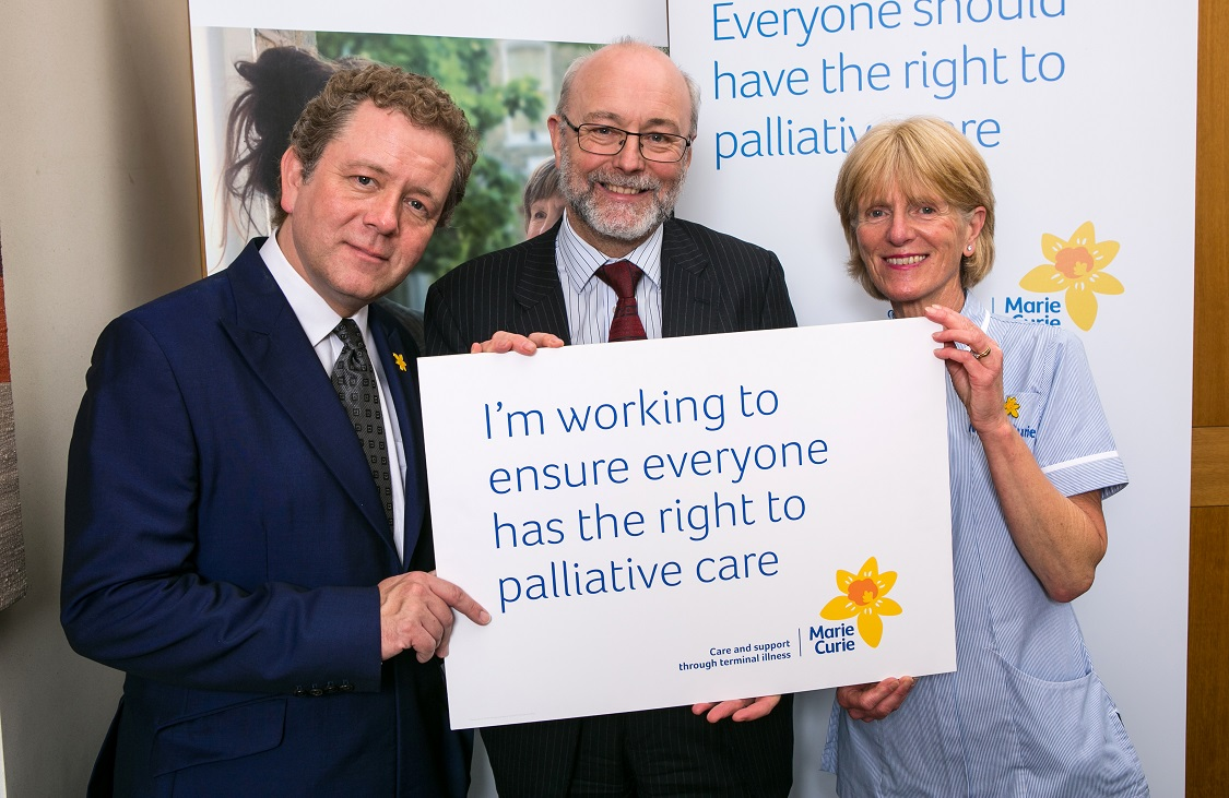 Alex pledges support for improving care for terminally ill