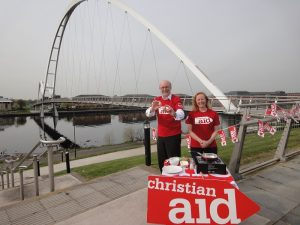 Alex & Christian Aid Week (May 2016)