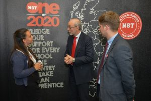 Alex calls on Stockton schools to take on apprentices