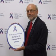Alex Cunningham MP supporting Baby Loss Awareness Week