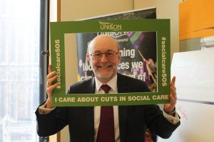 Alex calls for more funding for older people's social care services