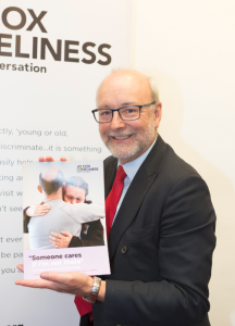 Alex attends Jo Cox Loneliness Commission and Sense reception
