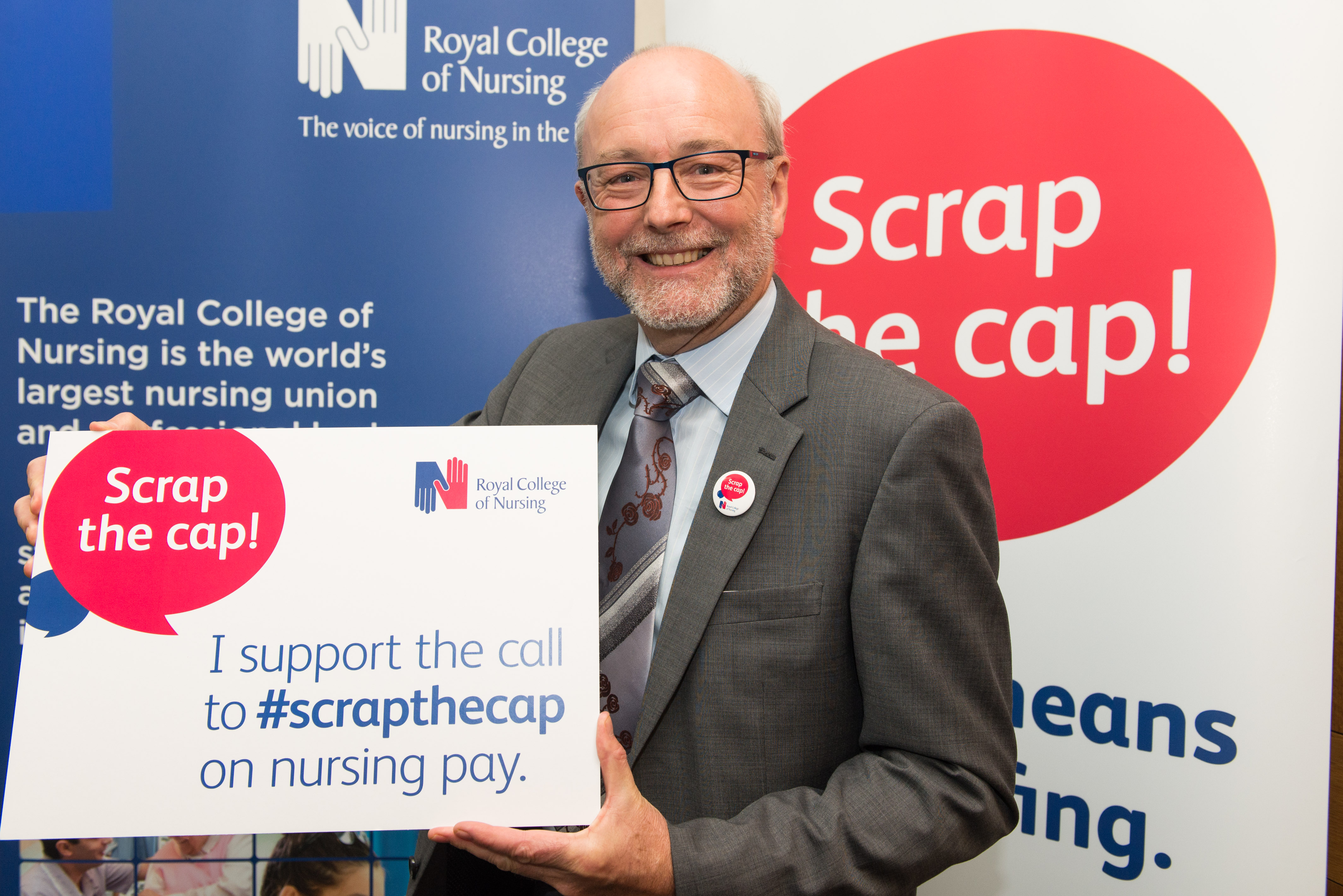 Alex backs campaign to scrap cap on public sector pay