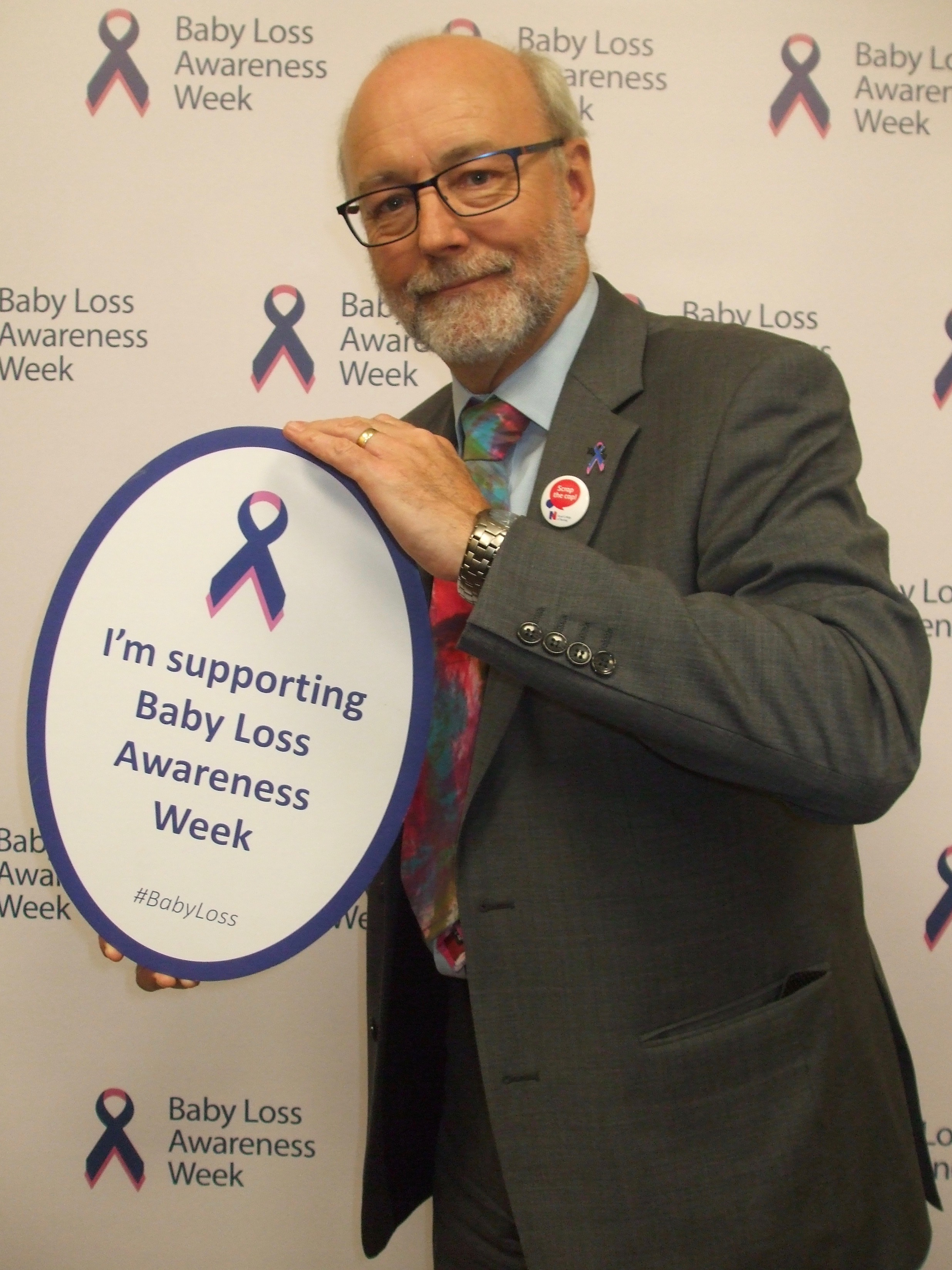 Alex supports Baby Loss Awareness Week