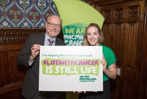 Alex supports Macmillan's World's Biggest Coffee Morning
