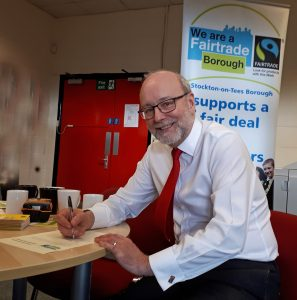 MP's office officially Fairtrade as Alex backs the campaign