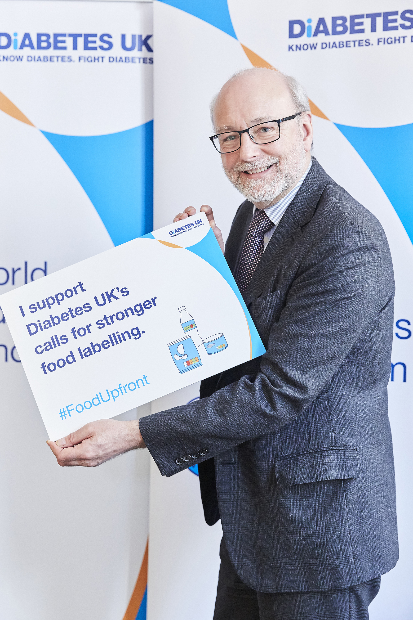 Alex pledges support for food labelling campaign