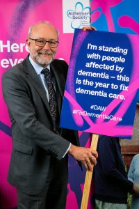 Alex joins Alzheimer's Society campaign to Fix Dementia Care