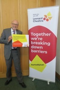 Alex gets on board to support new campaign for accessible transport