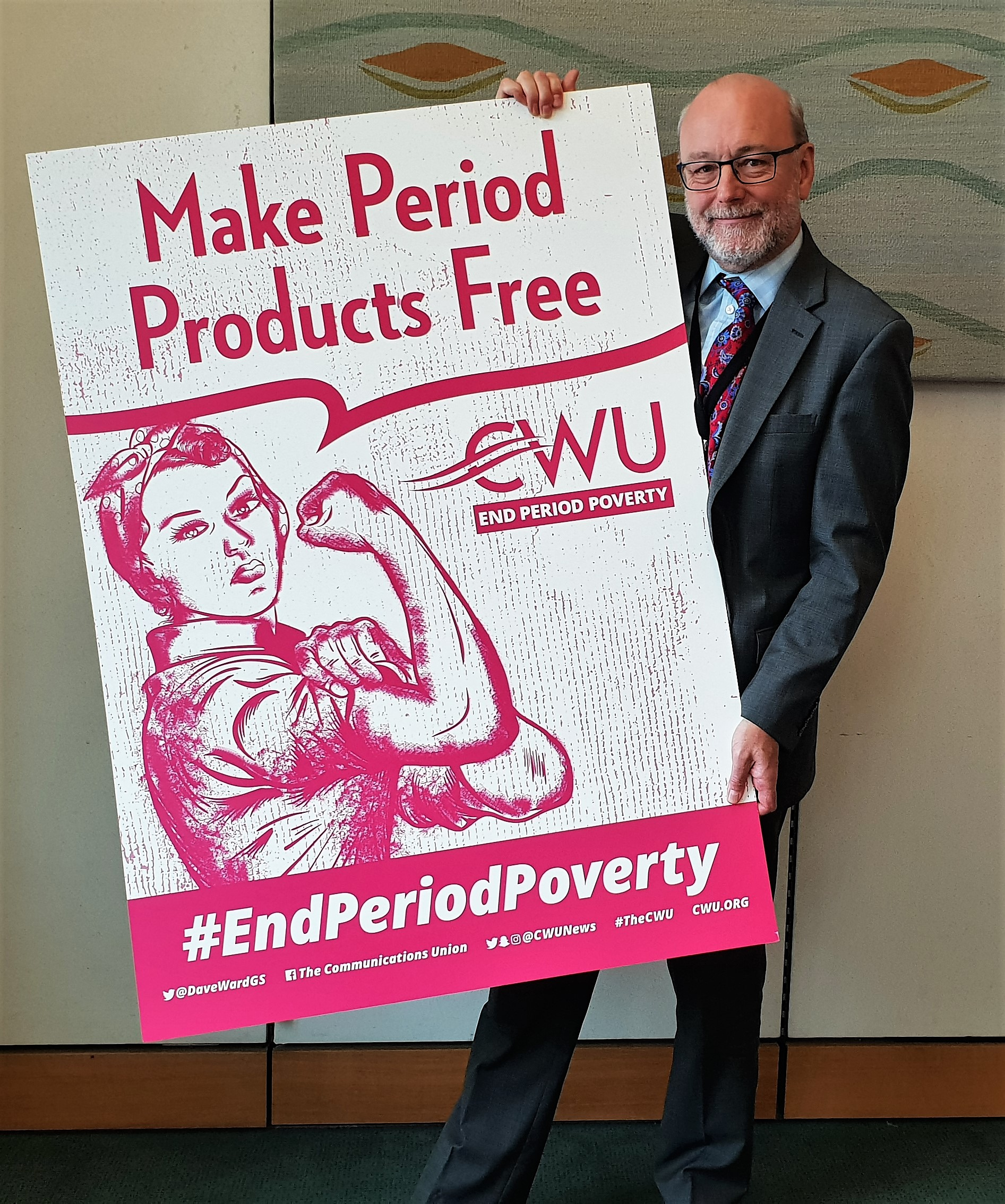 Alex backs campaign for free period products