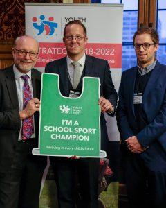 Alex becomes a School Sport Champion
