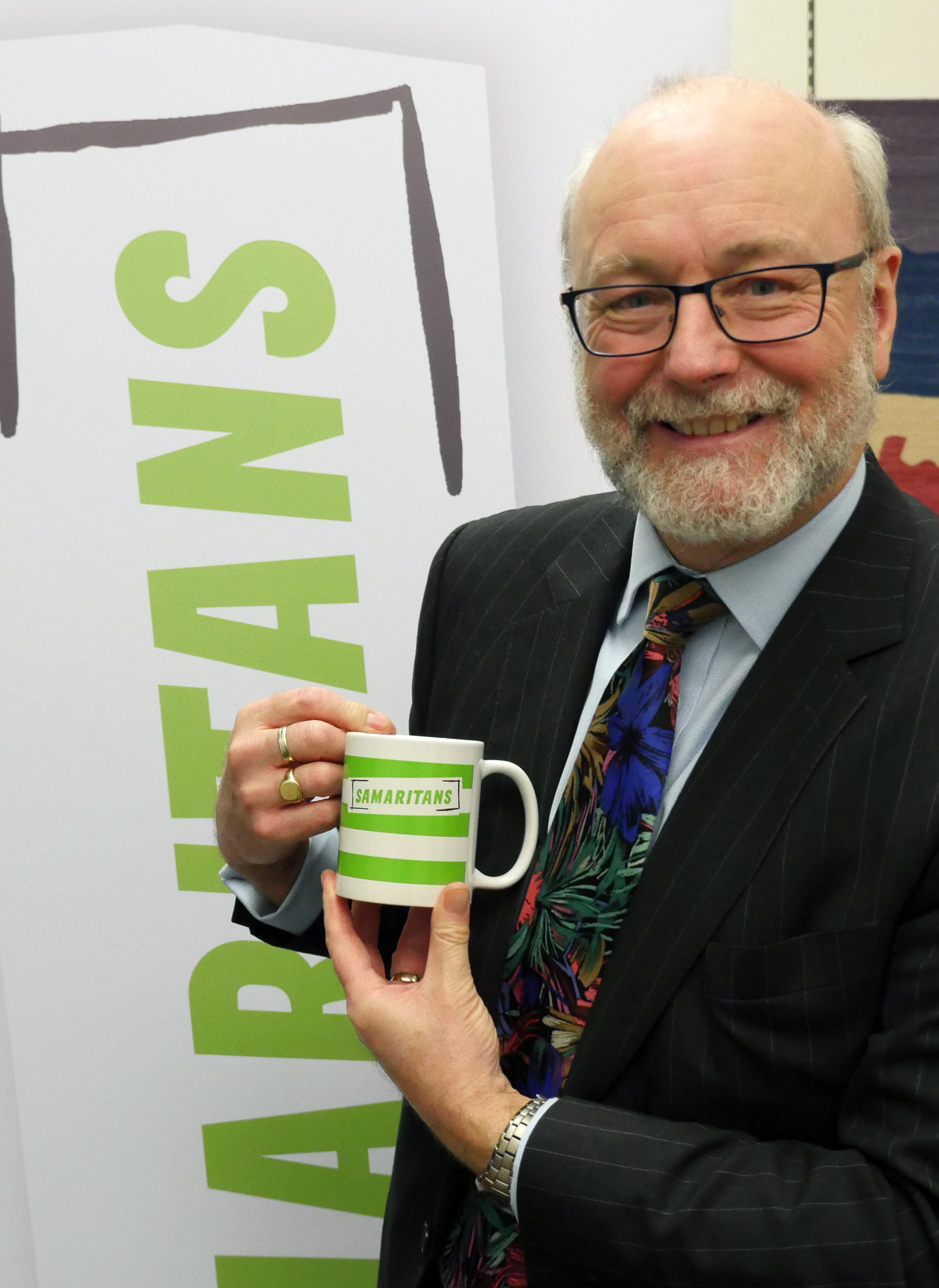 Alex joins Samaritans in Parliament to support Brew Monday