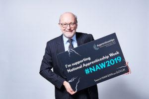 Alex gets behind National Apprenticeship Week 2019