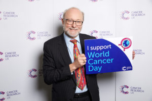 Alex unites with Cancer Research UK for World Cancer Day