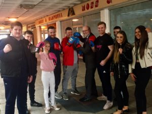 Alex joins forces with Billingham Boxing Club for Community Call for Action