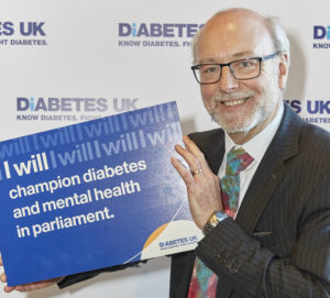 Alex backs calls for diabetes emotional and mental health support