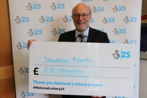 Alex celebrates £53m of National Lottery grants in Stockton North over 25 years