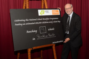 Alex backs National School Breakfast Programme