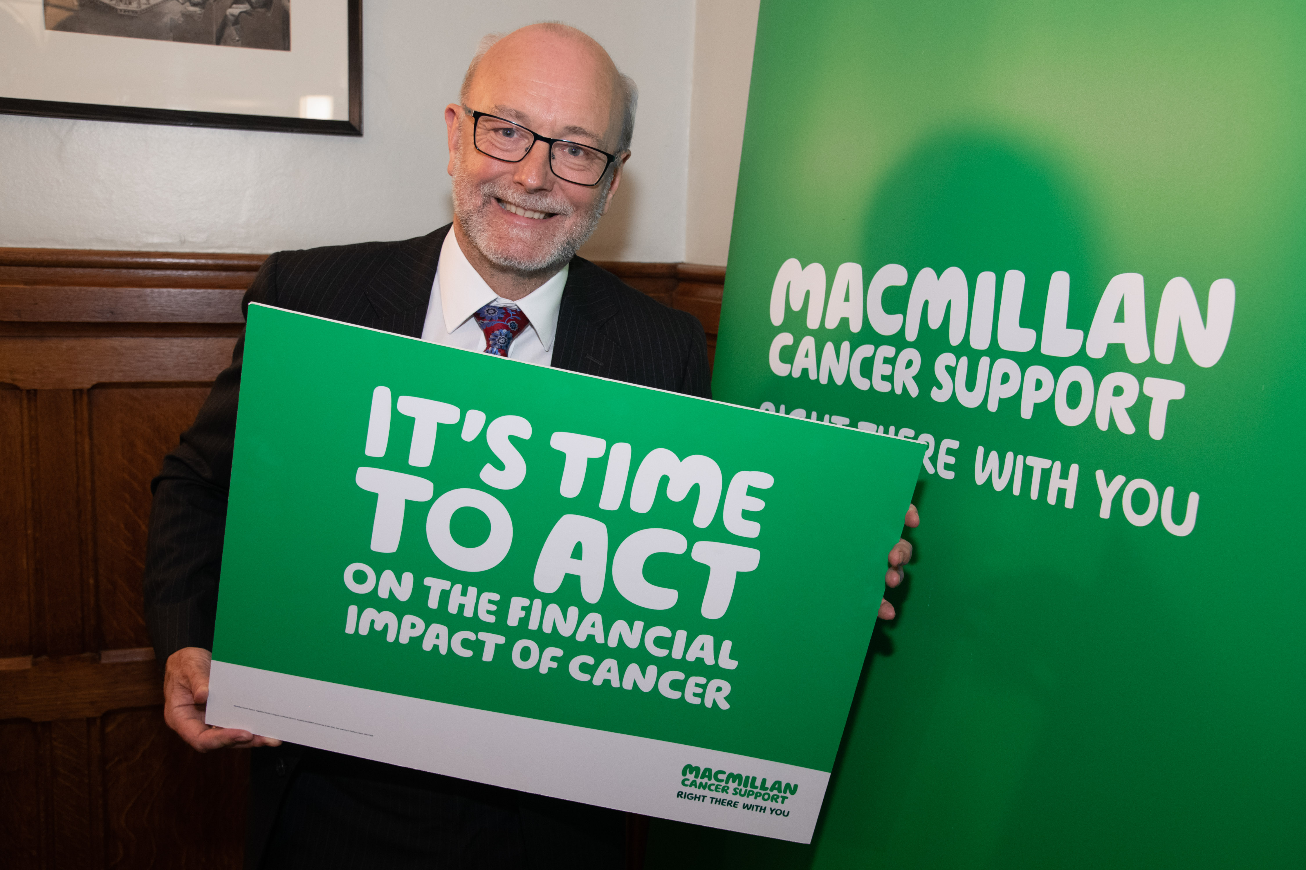 "Alex calls for action on the ""Costly Diagnosis"" of cancer"
