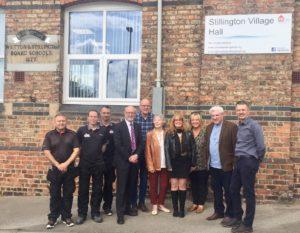 Alex calls for action on Stillington community concerns
