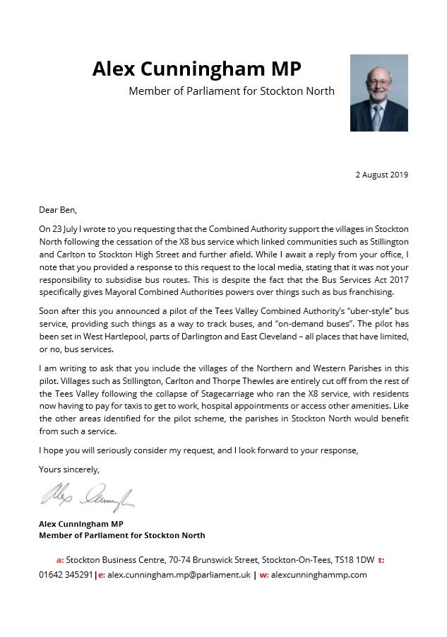 "Alex secures Tees Mayor pledge on ""Uber-style"" bus pilot"