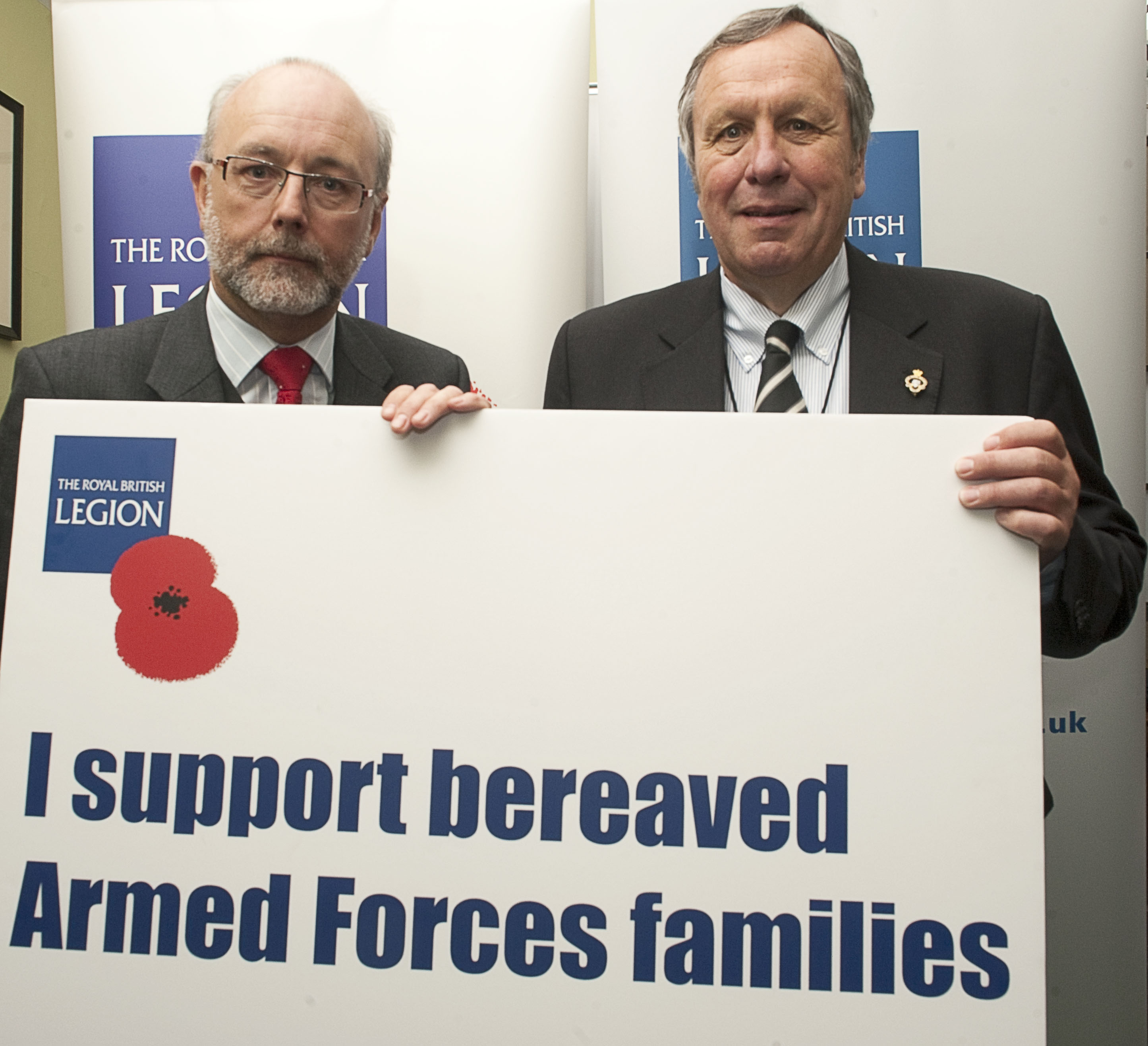 Alex shows support for bereaved Armed Forces families