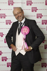 Alex 'wears it pink' to fund a cure for breast cancer