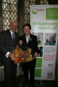 Alex MP uses his loaf to help breadline Britain and backs Million Meal Food Drive
