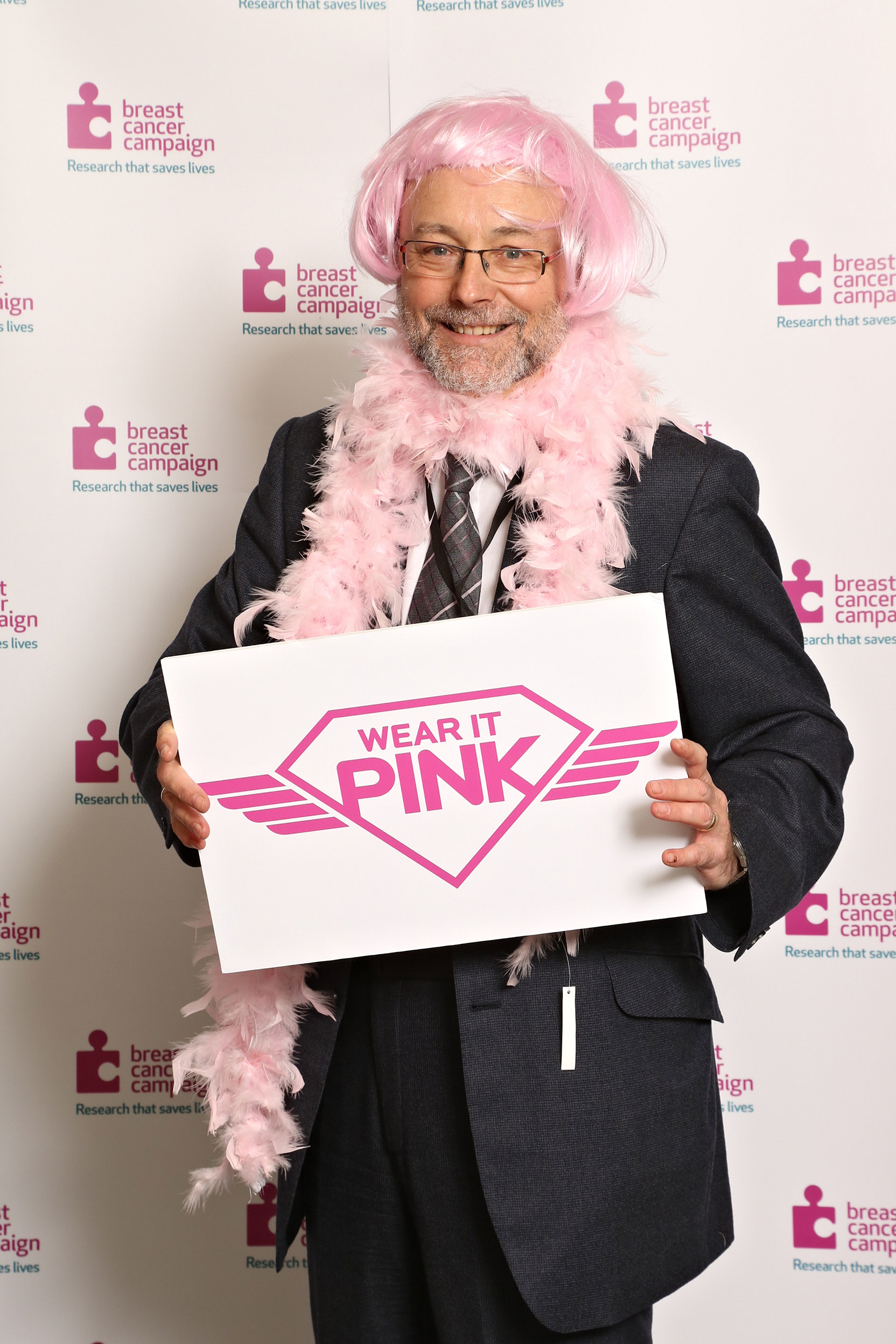 Alex joins the fight against breast cancer