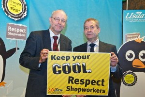 Alex backs call for shoppers to 'keep your cool' and not abuse shopworkers