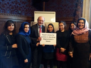 Alex confirms continued support for women's rights in Afghanistan