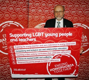 Alex backs Labour's plan to stamp out LGBT bullying