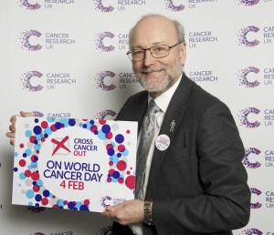 Alex supports Cancer Research UK for World Cancer Day