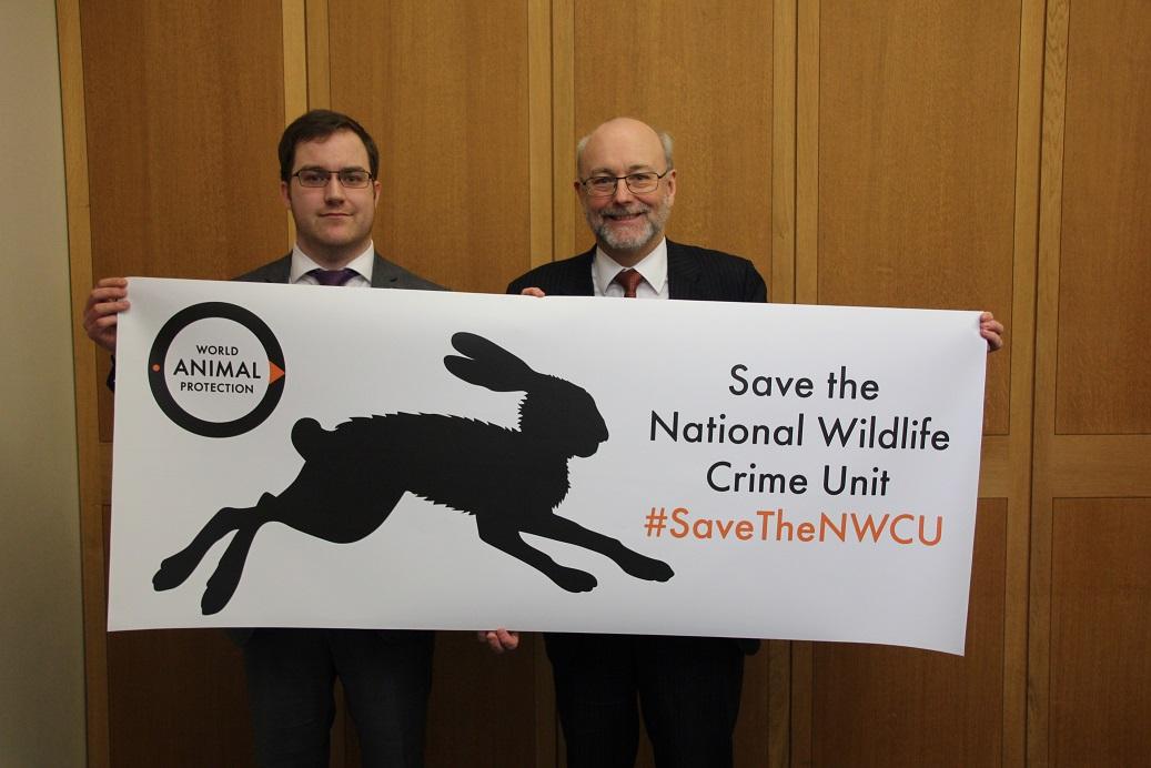 Alex urges action to save National Wildlife Crime Unit