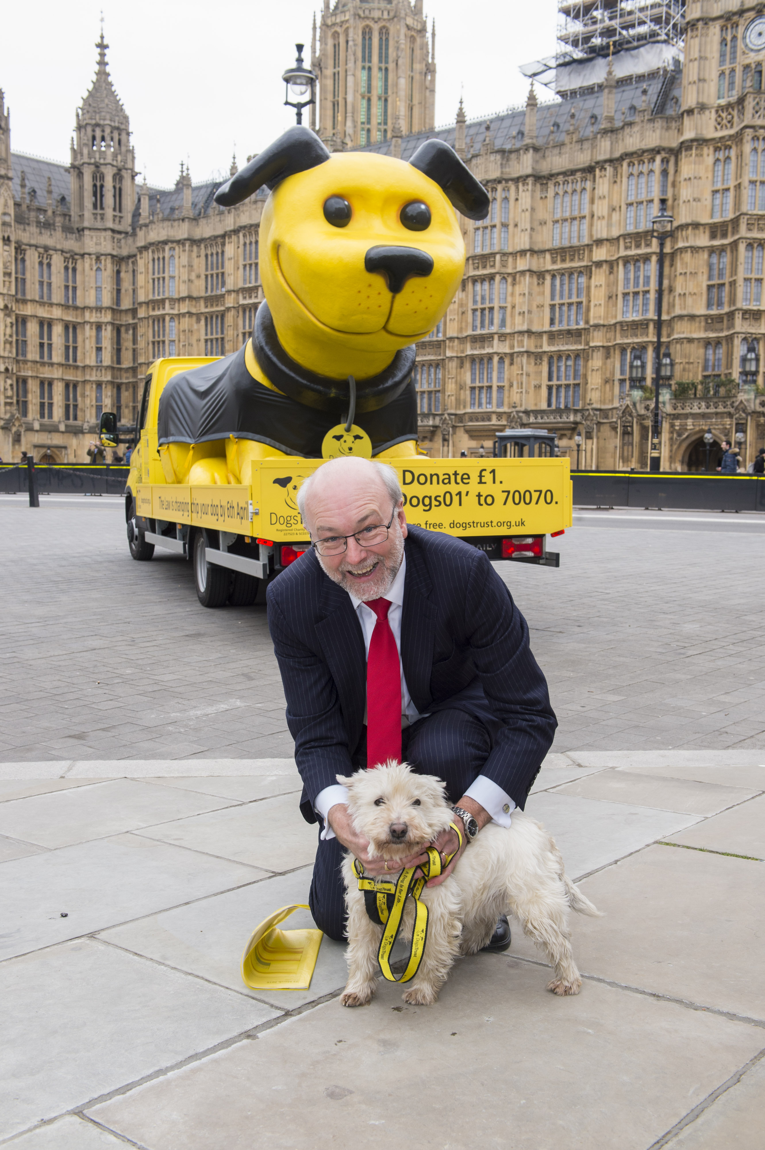 Alex marks one week countdown to compulsory microchipping